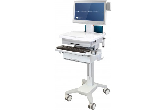 Patient Health Delivery LCD Cart